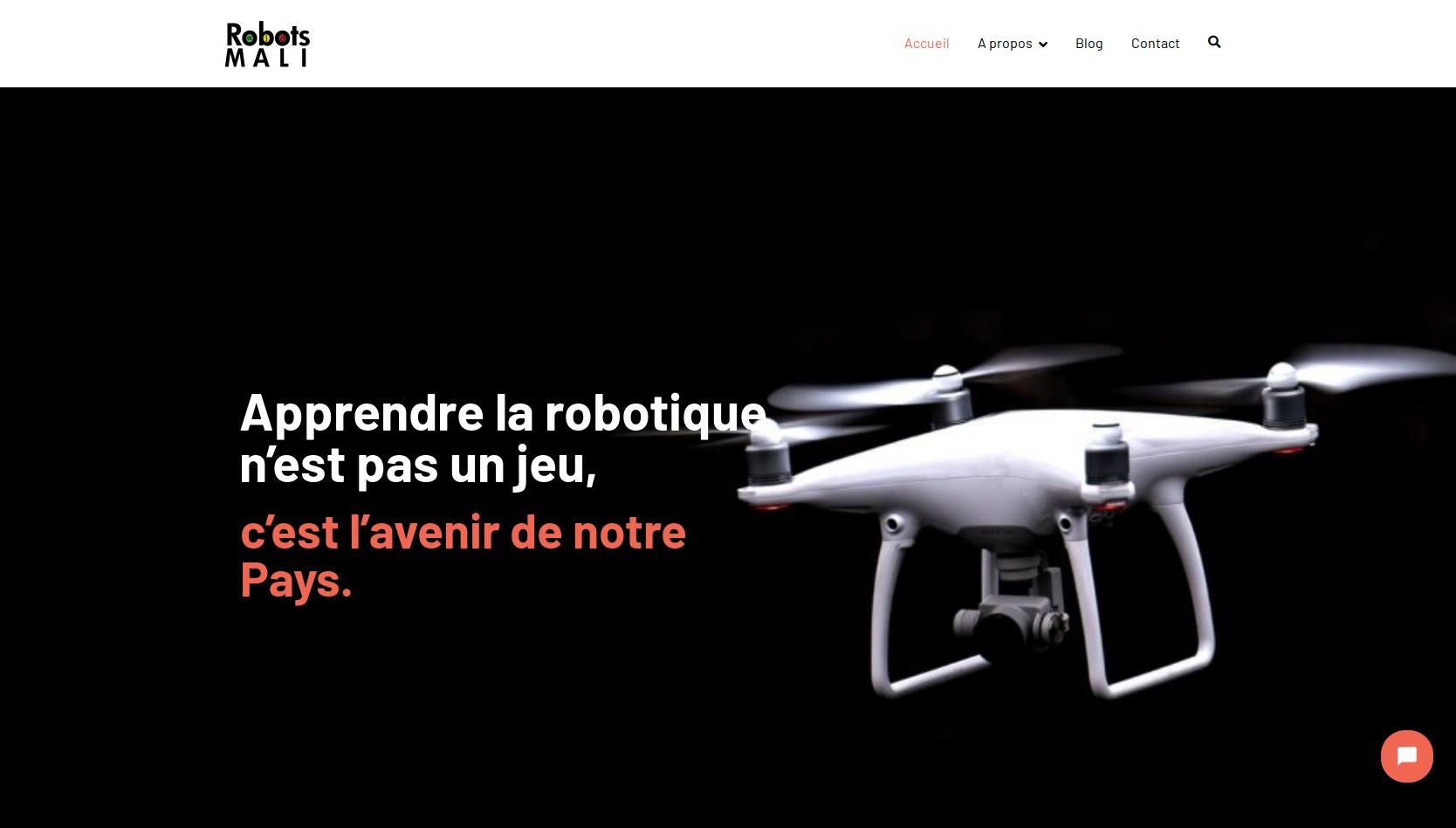 RobotsMali's website